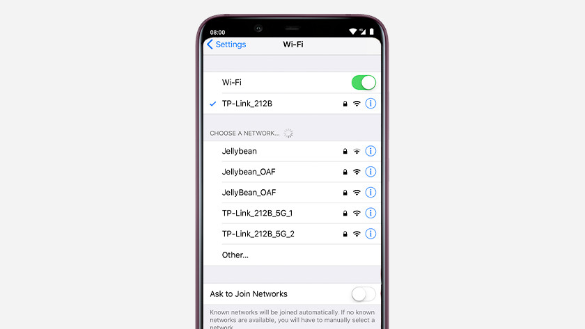 Connect TP link router to smartphone